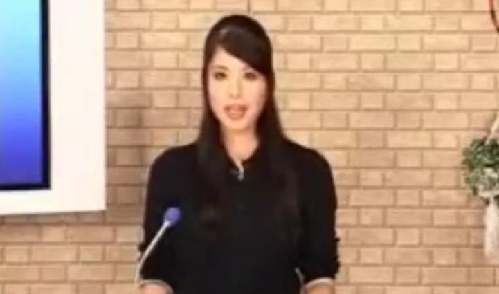 女子アナが、ニュースの合間に、フェラ抜き、口内発射、ぶっかけ・・「失礼しました」