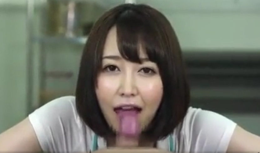 【篠田ゆう】ナースがノーハンドフェラ、連続フェラ抜き、口内発射、ごっくん・・「何日ぐらいたまっちゃてるんですか」「もうガマン汁でてる」
