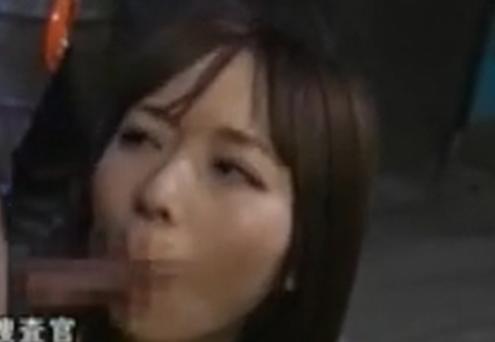 【麻倉憂】エリート女捜査官がノーハンドフェラ