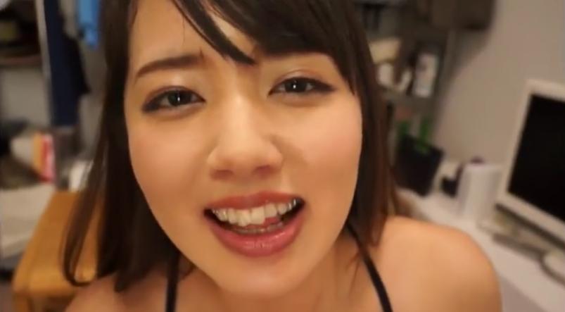 【美咲かんな】アイドル美少女の主観フェラが気持ちよすぎて、お口の中に2連射させてくれる♥ジュポジュポ♪ザーメンをごっくん♥