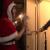 【青山未来】エロカワイイサンタがクリスマスに自宅へ押しかけ、素人M男に手コキ、乳首責め、主観フェラでご奉仕