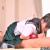 【素人ポニテ制服jkフェラ】『おじさん興奮しすぎ♡』クラスにいるチョイカワセーラー服娘がニーハイで援交シックスナイン