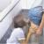 【個人撮影人妻お掃除フェラ】「旦那に怒られちゃうよぉ~♡」同じマンションのママ友を階段で立ちバックで激パコ寝取られ中出し